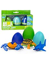 Animal Planet Grow Eggs Sea Hatch And Grow Three Different Super Sized Ocean Animals (Series 2) Model: , Toys & Games For Kids & Child