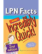LPN Facts Made Incredibly Quick! (Incredibly Easy! Series)