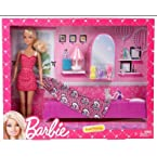 Barbie Sweet Bedroom Doll , Multi Color