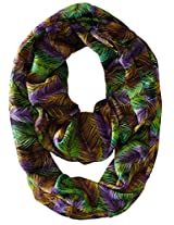 RAMPAGE Women's Tropical Light Weight Inifinity Scarves, Multi, One Size