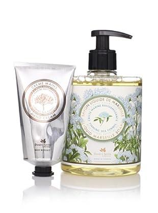 Panier des Sens Firming Sea Fennel Liquid Soap and Hand Cream, Set of 2