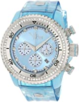 Vip Time Italy Women's VP8032AQ Charme Lady Sporty Chronograph Watch