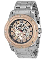 Invicta Men's 16128 Specialty Analog Display Mechanical Hand Wind Silver Watch