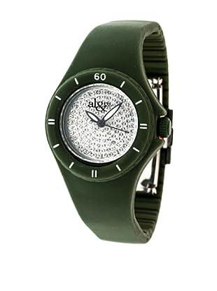 al&co Reloj silicona Verde Militar