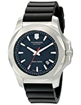 Victorinox Men's 241682.1 I.N.O.X. Analog Display Swiss Quartz Black Watch