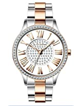 Giordano Analog White Dial Women's Watch - A2031-44