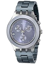 Swatch Chronograph Grey Dial Men's Watch - SVCM4007AG