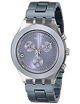 Swatch Chronograph Grey Dial Men's Watch - SVCM4007AG