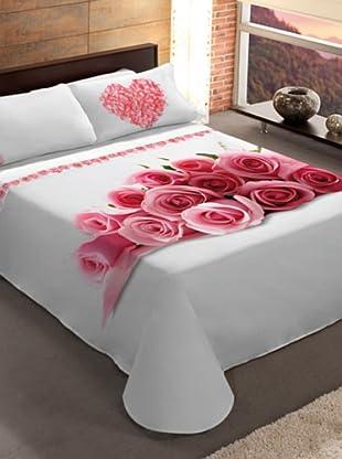 Manterol Cubrecamas Love (Rosa)