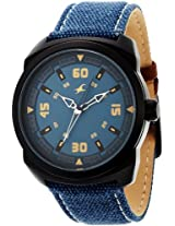 Fastrack OTS Explorer Analog Blue Dial Men's Watch - 9463AL07