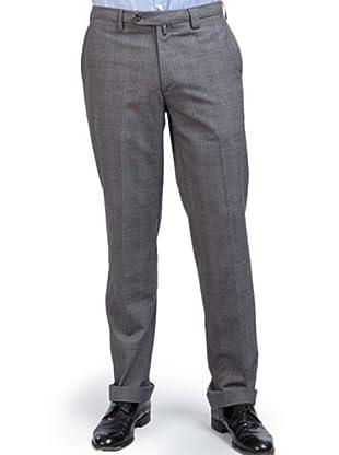 PEDRO DEL HIERRO Pantalón Príncipe de Gales (Gris)