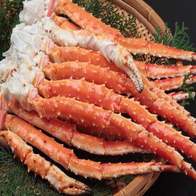 SHUEI ボイルたらば蟹足 総重量約3.0kg + 殻付きあわび付