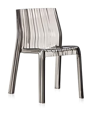 Zuo Set of 4 Ruffle Dining Chair (Gray)