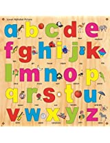 Kinder Creative KCL 04 Lower Alphabet with Knobs, Multi Colour