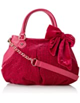 Betsey Johnson Crystal Palace Satchel