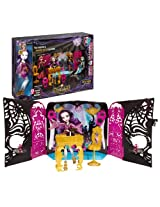 "Mattel Year 2013 Monster High ""13 Wishes"" Series 11 Inch Doll Playset - PARTY LOUNGE with DJ Table,"