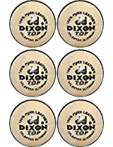 Dixon Crk-Lbr02 Men's Leather Ball Standard Gold (Pack of 6)