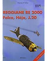 Reggiane Re 2000 Falco Hej Aj.20 (Aviolibri Special Series)