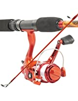 Best Quality South Bend Worm Gear Fishing Rod & Spinning Reel (Orange) Co