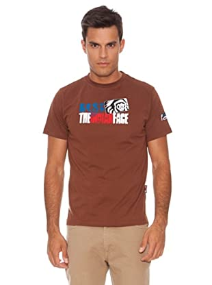 The Indian Face Camiseta Indi (Marrón Chocolate)