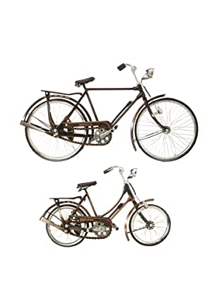 The HomePort Collection His and Hers Retro Bicycle Set