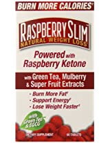 Windmill Health Products Rasberry Slim Supplement, 60 Count