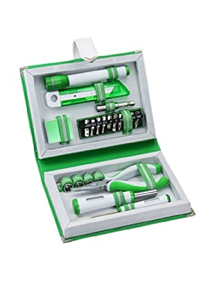 Wilouby 22-Piece Toolset, Green