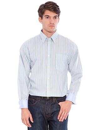 Hackett Camicia Righe (Blu/Verde)