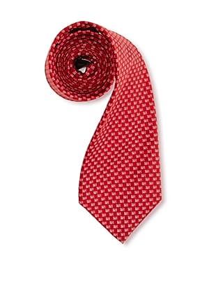 Pedro del Hierro Corbata Seda Logos (Rojo)