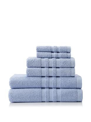 6-Piece Bath Towel Set, Sky