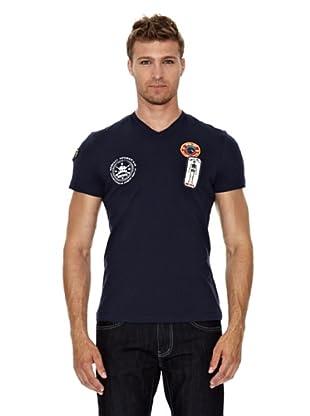 Unitryb Camiseta Manga Corta (Azul)
