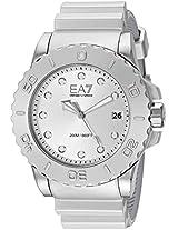 Emporio Armani Wave Analog Silver Dial Men's Watch - AR6085