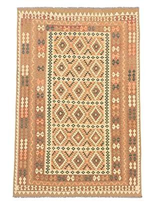 eCarpet Gallery One-of-a-Kind Kashkoli Kilim Rug, Khaki/Yellow, 6' 6