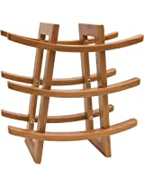 Lipper International Wine Rack - Bamboo