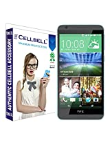 Cellbell Premium Tempered Glass Screen Protector for HTC 820(2.5D Curved Edges)(Clear)(Comes with Warranty)Complimentary Prep cloth