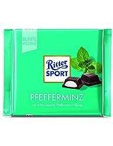 Ritter Sport Bar, Peppermint Chocolate - 100 Grams