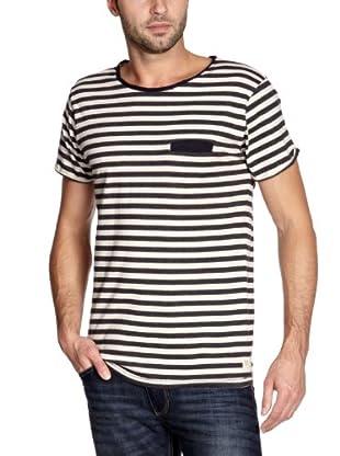 Cottonfield T-Shirt (Anthrazit/Weiß)
