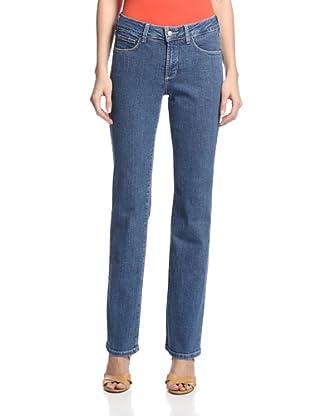 NYDJ Women's Marilyn Straight Jean (Medium Wash)