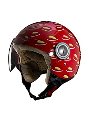 Exklusiv Helmets Casco Vogue Strawberry (Rosso)