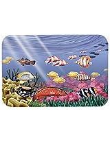 Caroline's Treasures PTW2032CMT Undersea Fantasy 7 Kitchen or Bath Mat, 20 by 30 , Multicolor