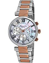 Kenneth Cole Classic Analog Silver Dial Women's Watch - IKC4970
