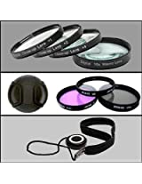 Professional Filter Kit For Nikon D40, D40X, D50, D60, Which Have Any Of These Nikon Lenses, 18-55mm, 55-200mm, 35mm (1.4 or 1.8) 50mm (1.4G or 1.4D) and 50mm (1.8G or 1.4D) Which Includes: Close-Up Macro Lens Set: 1 +2 +4 +10 and Wallet Case, 3 Piece UV, CPL, FLD Filter set with Black Case, Professional Sturdy Design Snap-On Lens Cap and Digital SLR Lens Cap Keeper