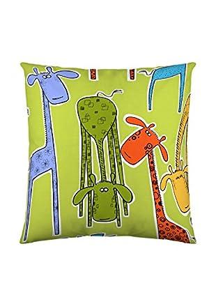 NATURALS Funda De Cojín Giraffes