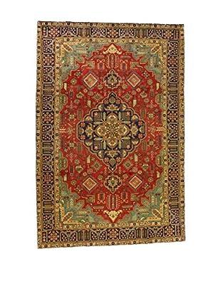 Eden Teppich M.Tabriz rot/honig/grün 200 x 303 cm