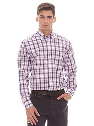 Gant Camisa Cuadros (Azul)