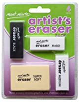 Mont Marte Artists Eraser Pack MAXX0005 4Pcs PBIC