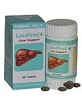 Herbal Hills LIV First Liver Support - 60 Tablets