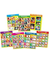 Carson Dellosa Early Learning Chartlet Set