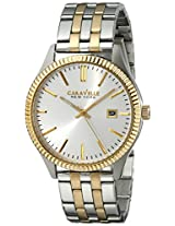 Caravelle by Bulova Dress Analog Champagne Dial Men's Watch - 45B129