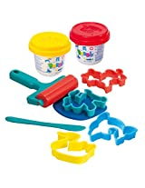 PlayGo Roll & Cut Clay Dough (2 x 2-Ounce Dough Included)